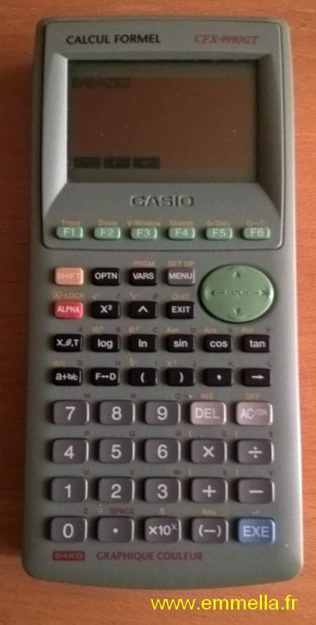 Casio CFX-9990 GT