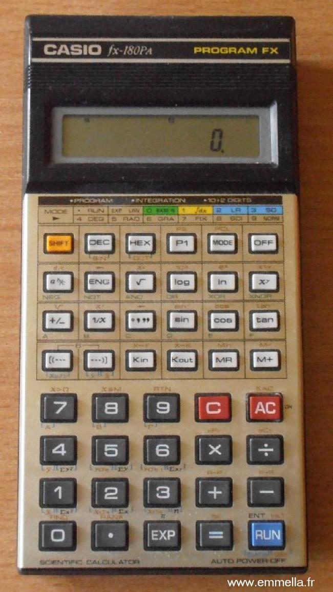 Casio FX-180 Pa