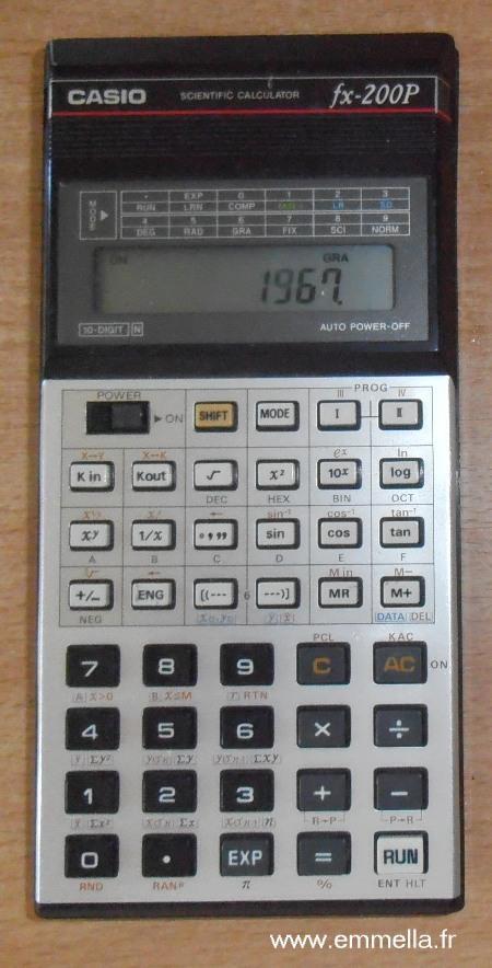 Casio FX-200P