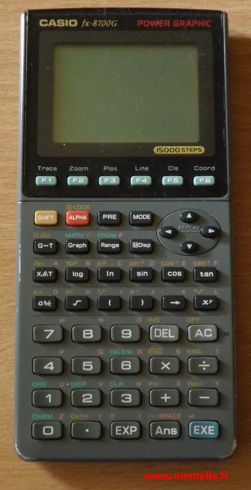 Casio FX-8700G