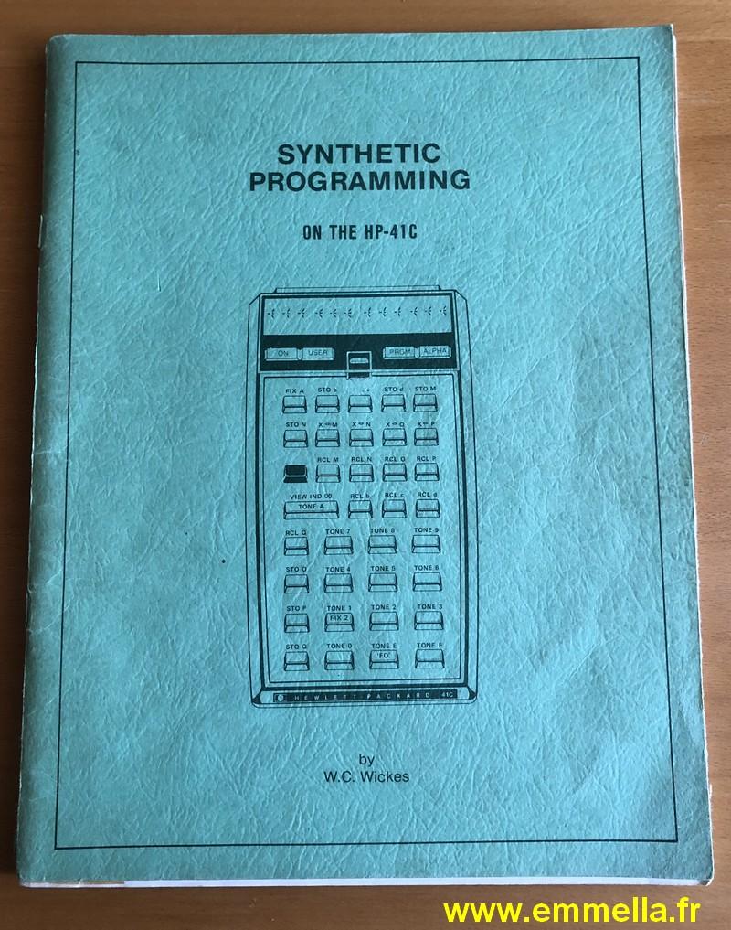 Hewlett Packard HP-41C Synthetic programming