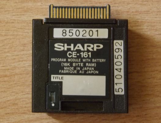 Sharp CE-161