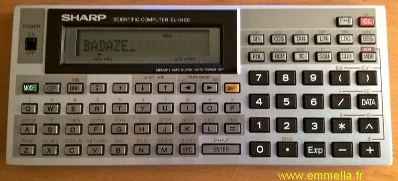 Sharp EL-5400