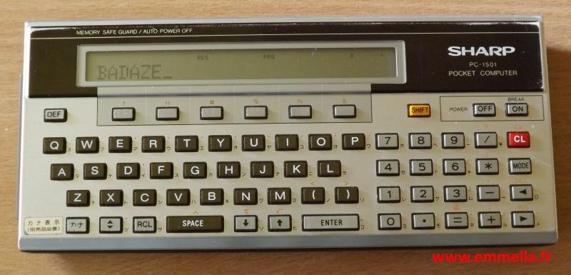 Sharp PC-1501