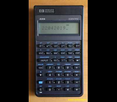 HP 22S