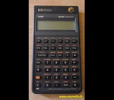 HP 32S 50th