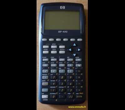 HP 40G