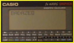 Casio FX-6000G