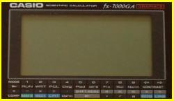 Casio FX-7000G/GA - Casio OH-7000G
