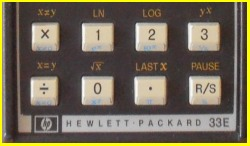Hewlett Packard HP 33E