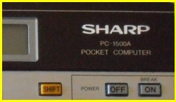Sharp PC-1500 - TRS PC2