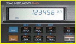 Texas Instruments TI 65