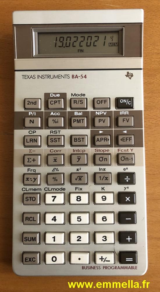 Texas Instruments BA-54