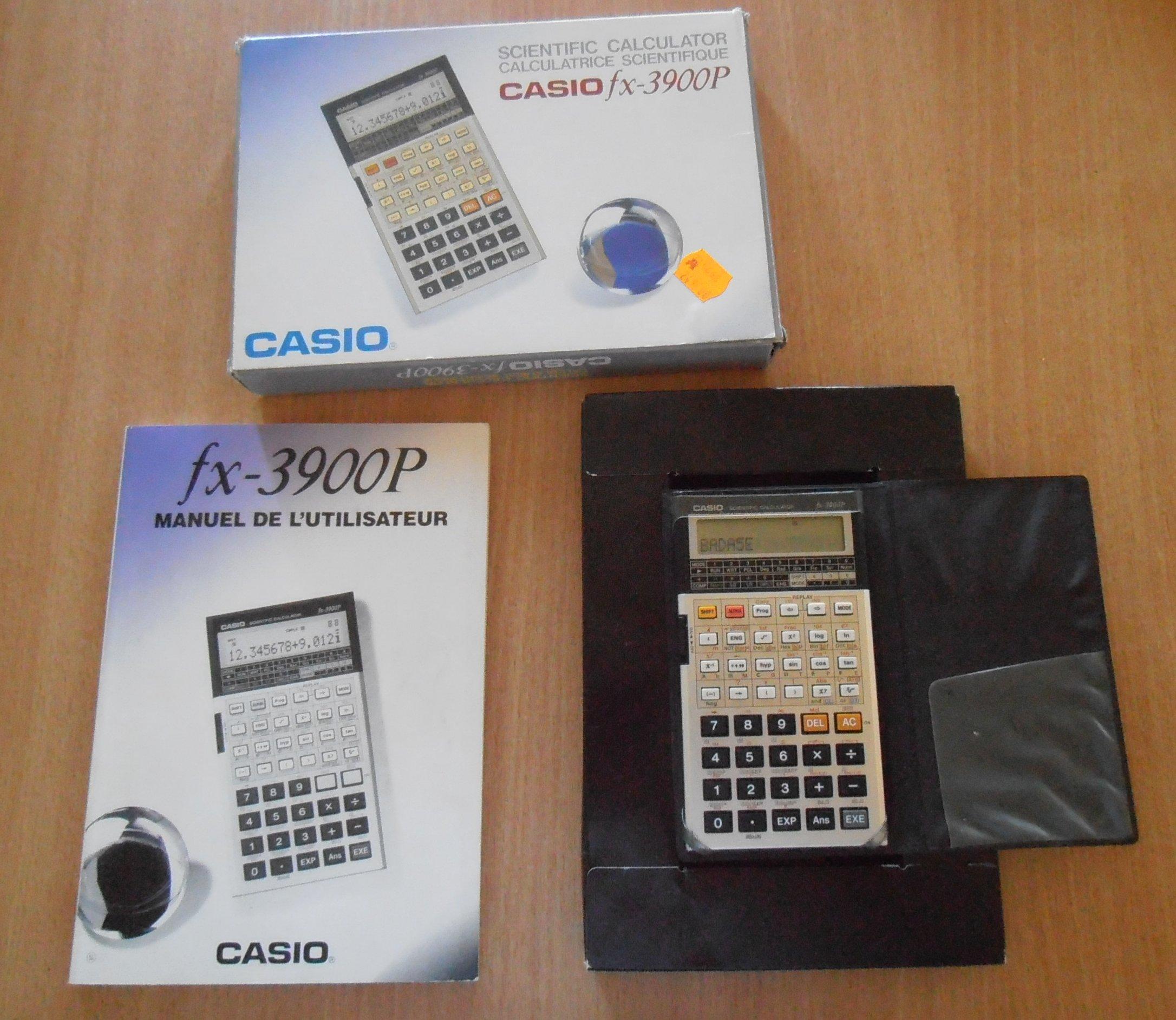 Casio FX-3900P + Boîte