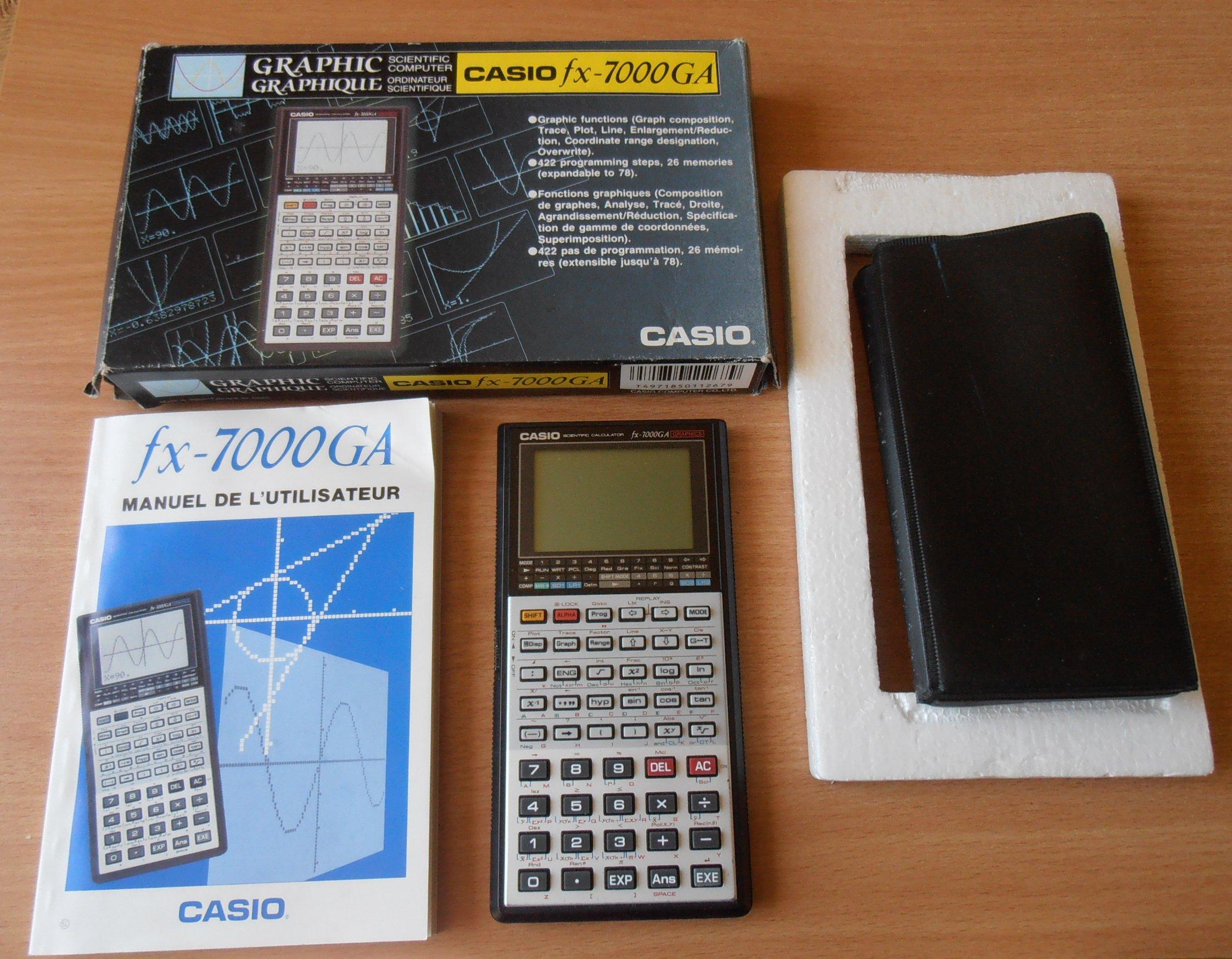 Casio FX-7000GA
