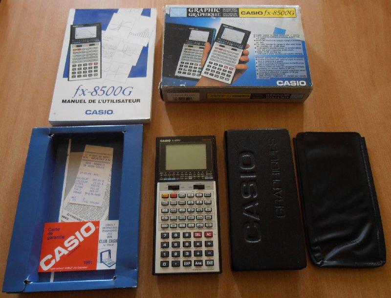 Casio FX-8500G Accessoires
