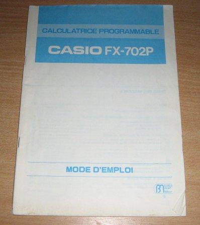 Documentation FX-702P