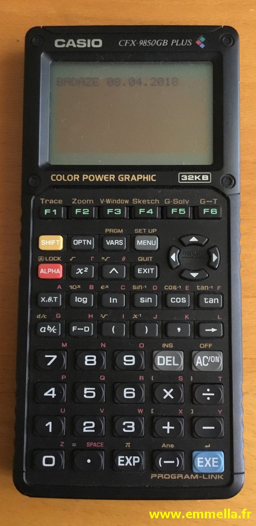 Casio CFX 9850GB PLUS