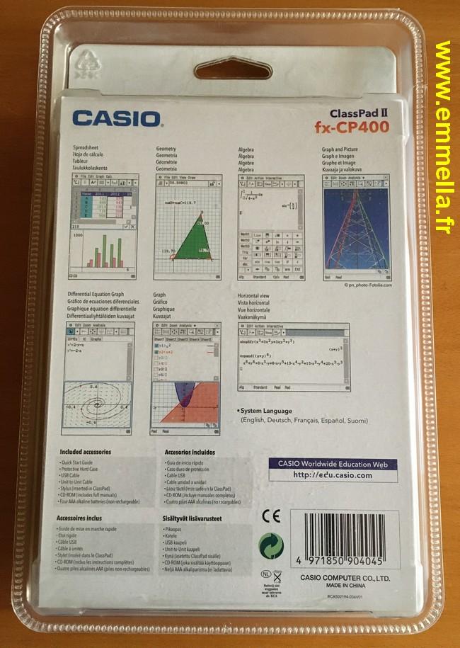 Casio fx-CP400 (ClassPad 2)