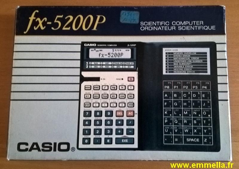 Casio FX-5200P