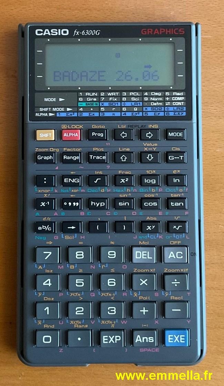 Casio FX-6300G