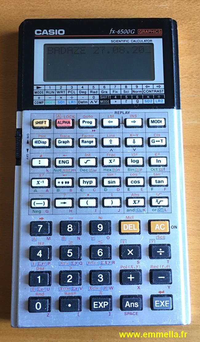 Casio FX-6500G