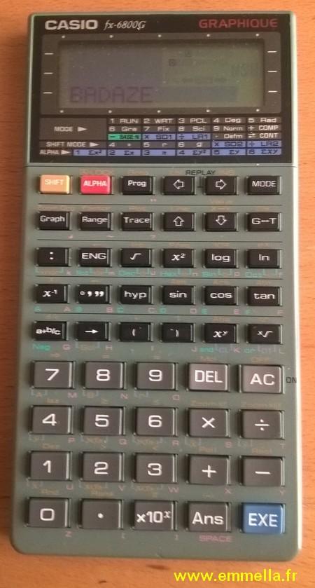 Casio FX-6800G
