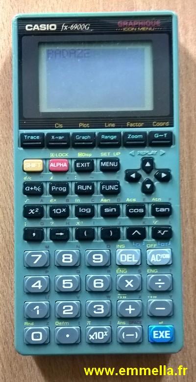 Casio FX-6900G