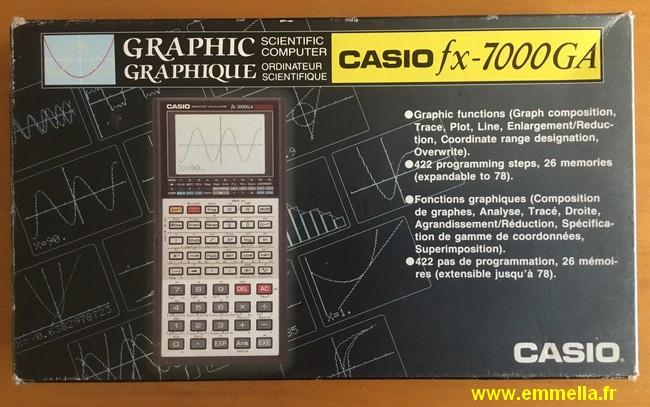 Casio FX-7000 GA
