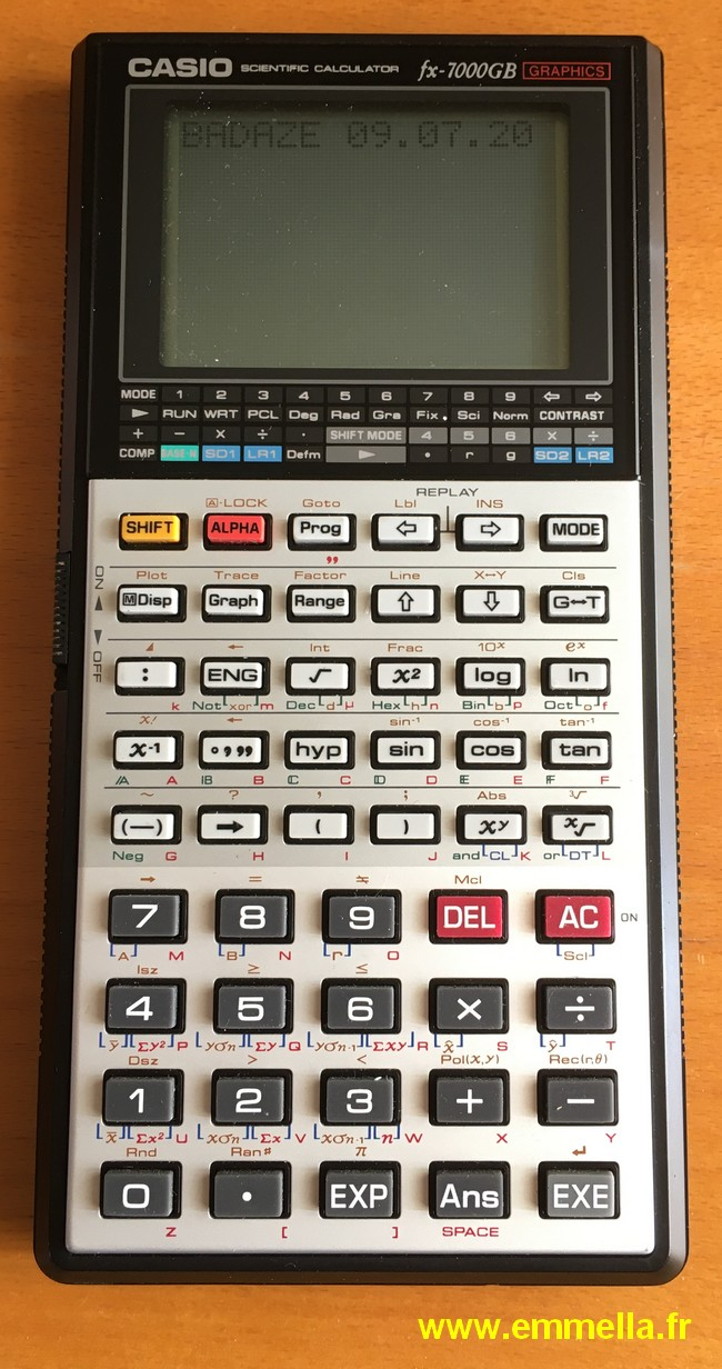 Casio FX-7000 GB