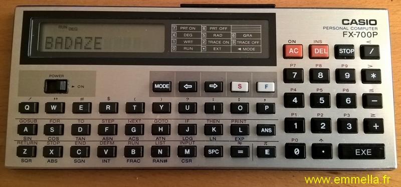 Casio FX-700P