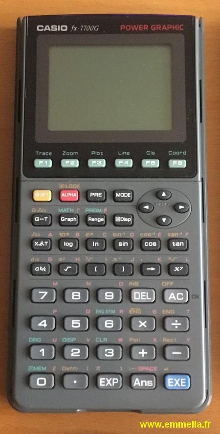 Casio FX 7700G