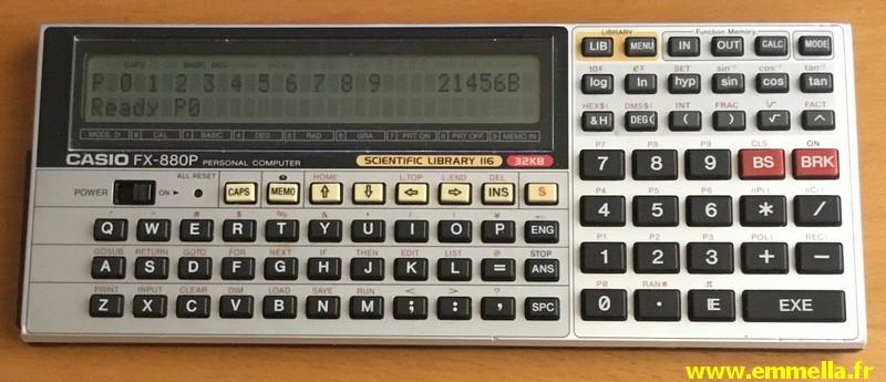 Casio FX-850P - Casio FX-880P