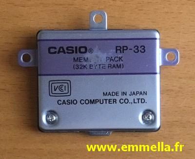Casio FX-850P - Casio FX-880P - Module RP-33