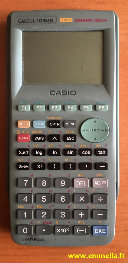 Casio Graph 100+