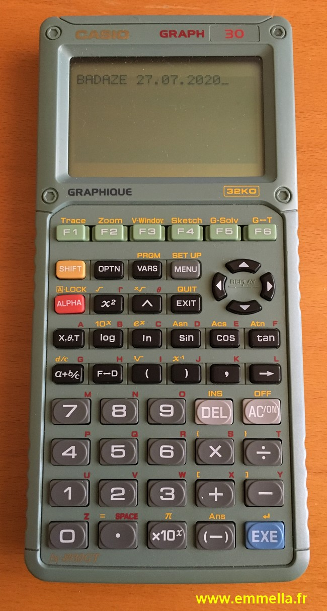 Casio GRAPH 30