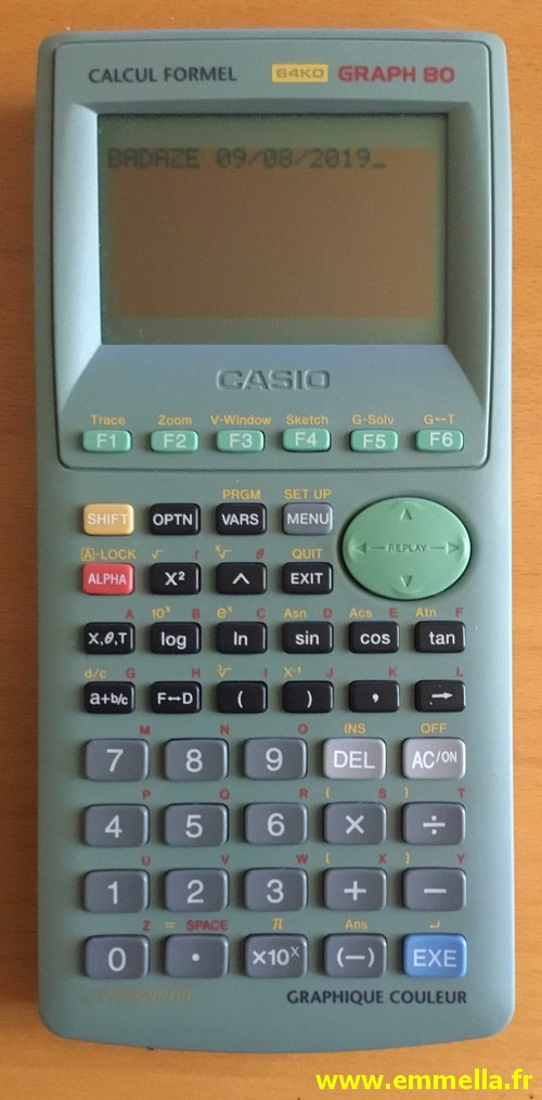 Casio Graph 80