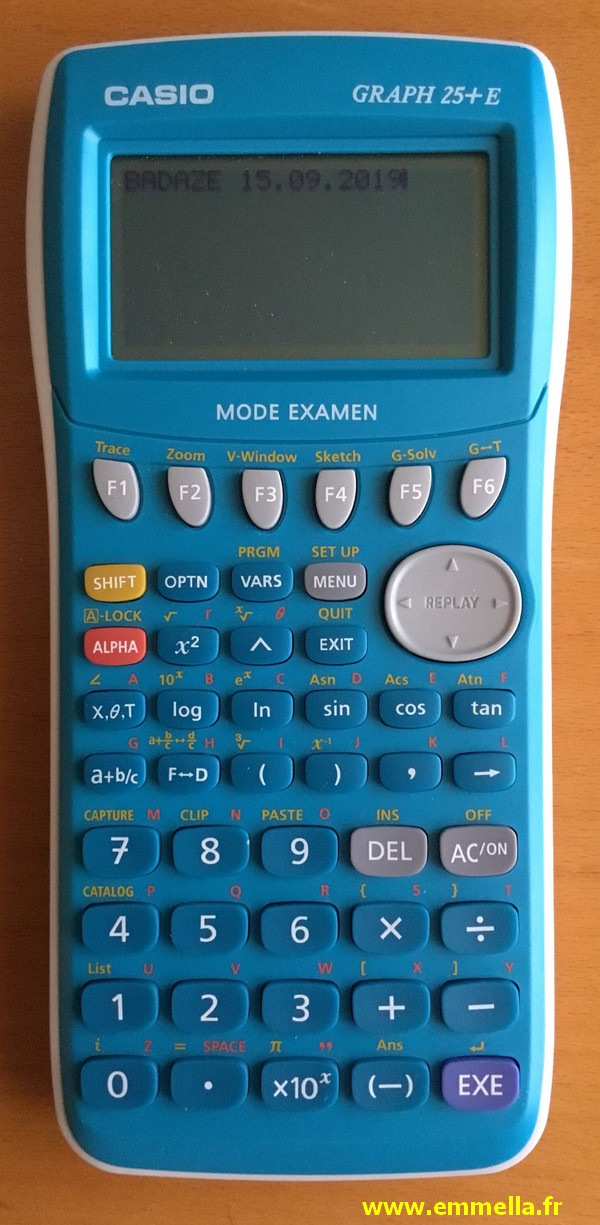 Casio Graph 35+E