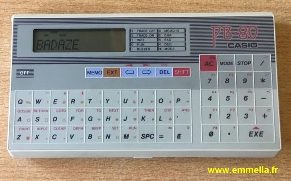 Casio PB-80