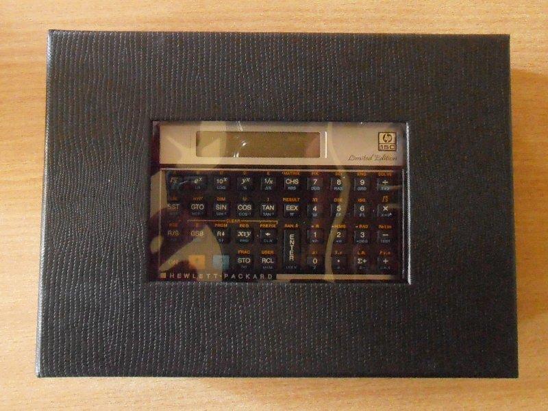 HP 15C LE - boîte