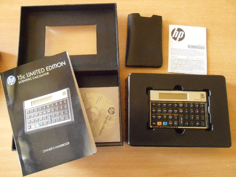 HP 15 LE - contenu de la boîte