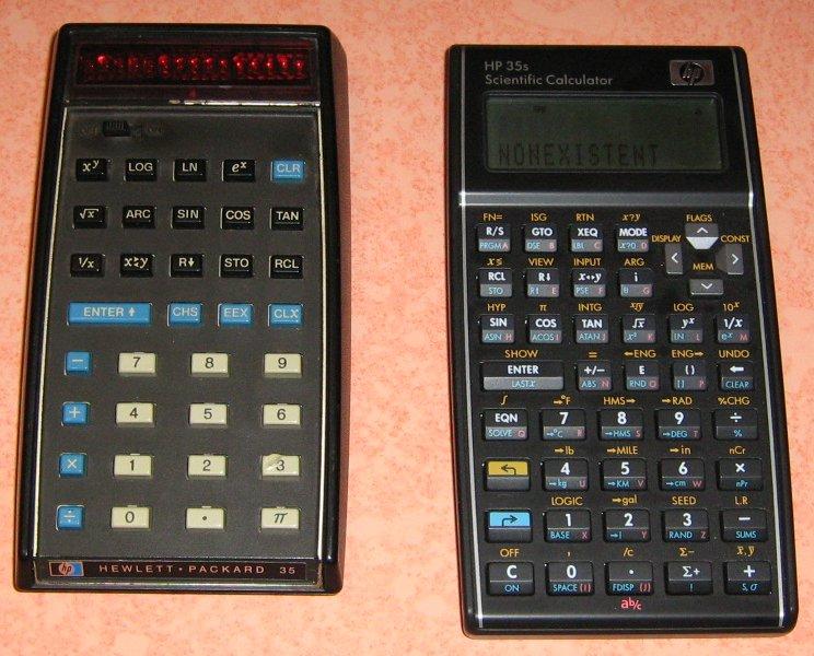 HP 35 & 35S