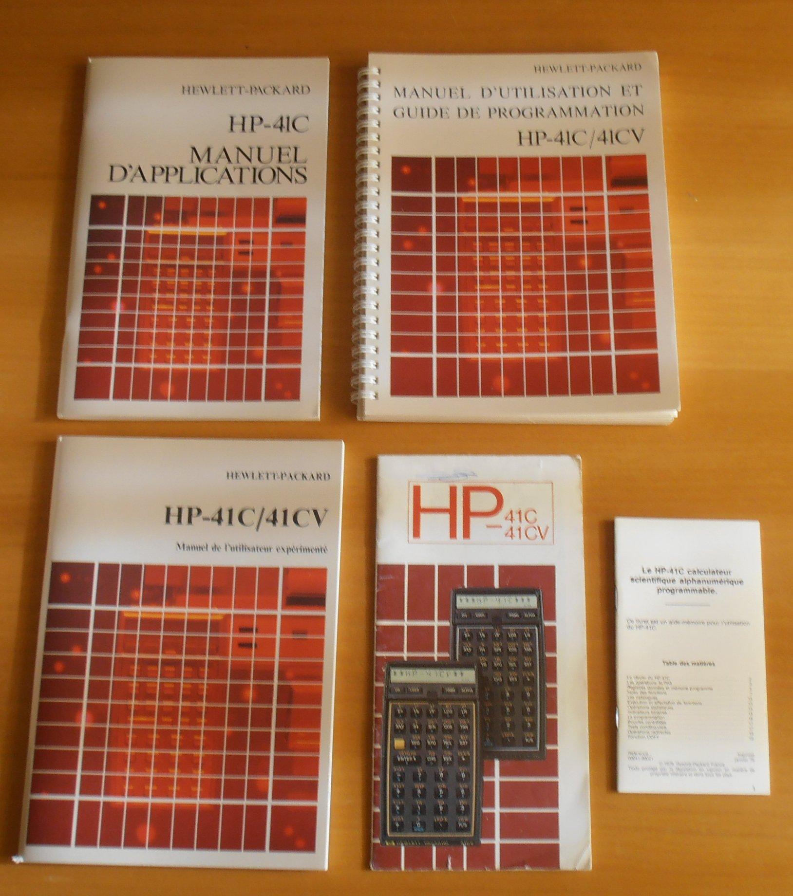HP 41 CV Documentation
