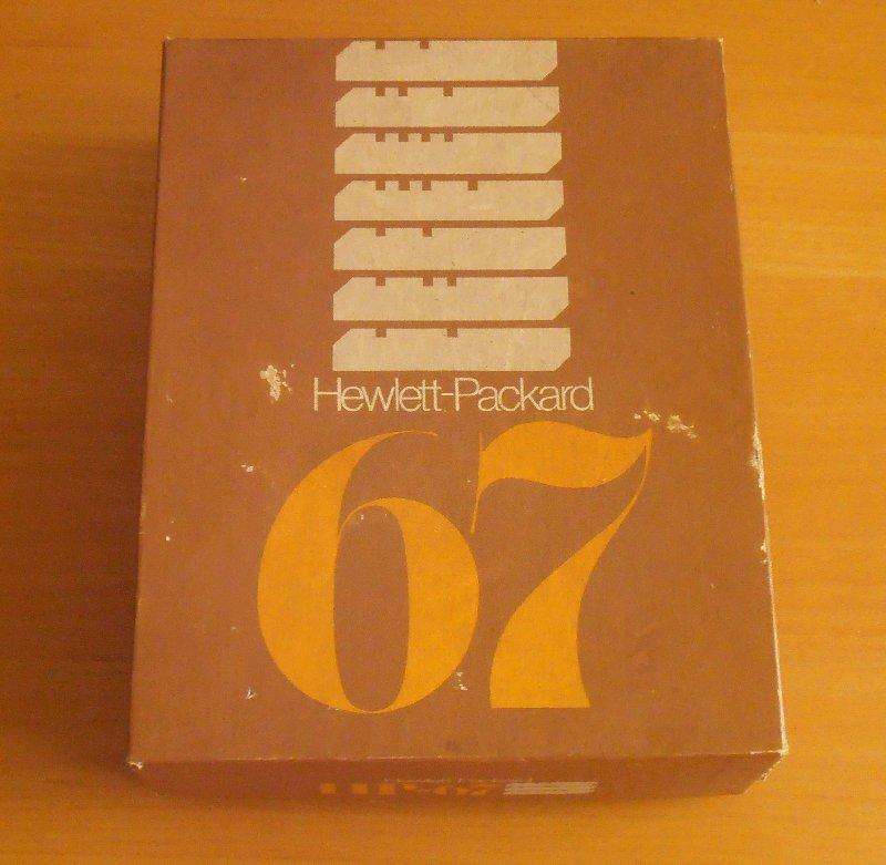 HP 67 - la boîte