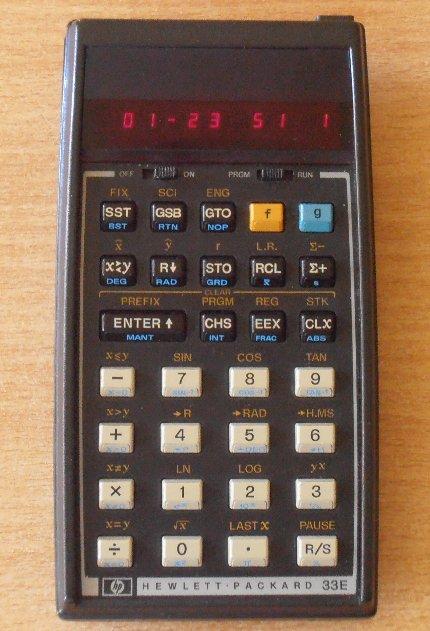 HP 33E