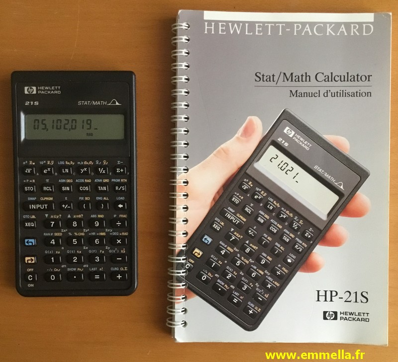 Hewlett-Packard HP-21 S