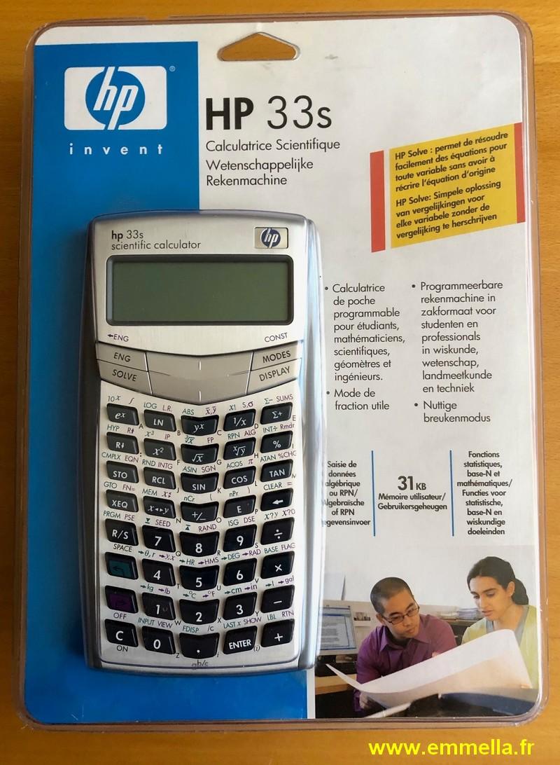Hewlett-Packard HP-33S