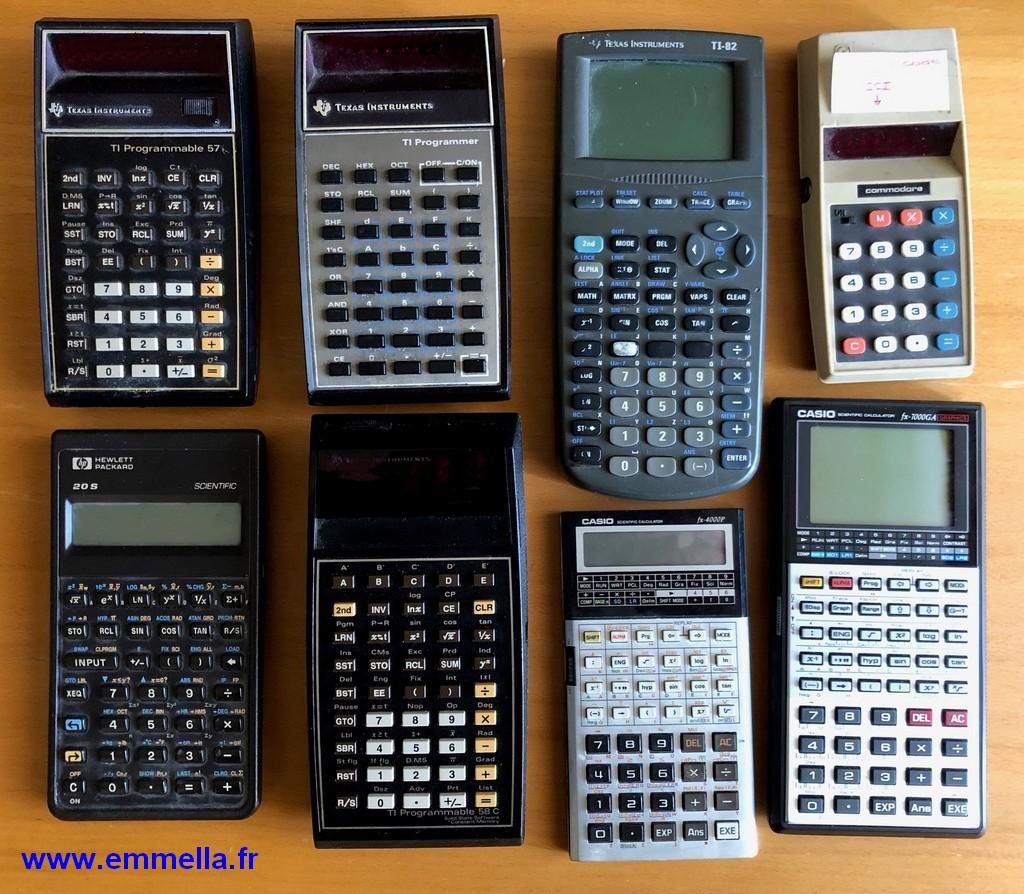 Lot de calculatrices