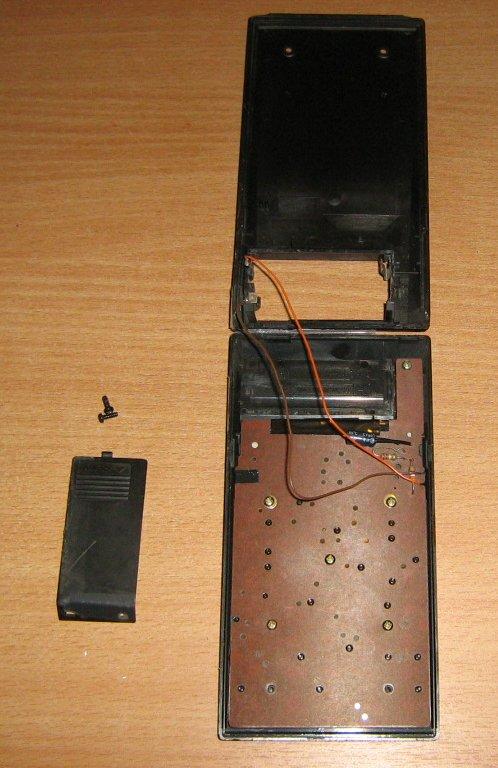 Casio FX-180P intérieur