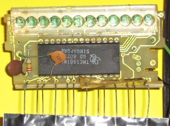 TI 57 - l'électronique